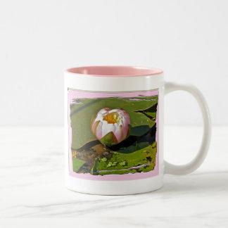 Pink Water-Lily Bud Mug