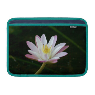 "Pink water lily flower, Photo 11"" Sleeve For MacBook Air"