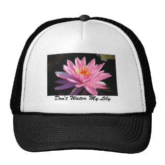 Pink Water Lily Mesh Hat