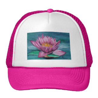 Pink Water Lily Hat