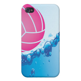 Pink Water Polo Ball iPhone 4 Case