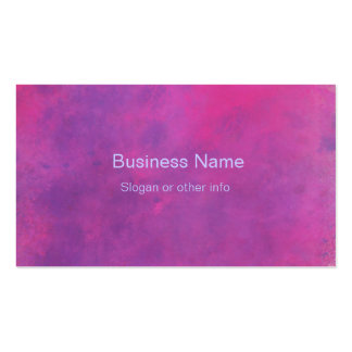 Pink Watercolor Abstract Texture Business Card