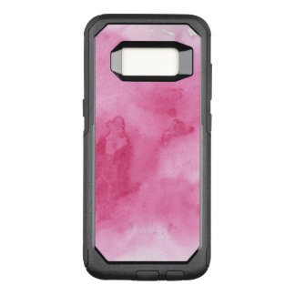 pink watercolor background for your OtterBox commuter samsung galaxy s8 case