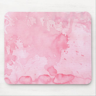 Pink Watercolor Mouse Pad
