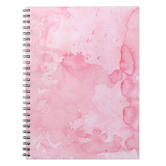 Pink Watercolor Notebook