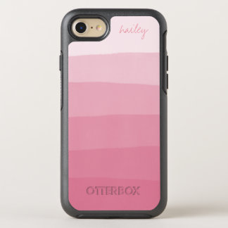 Pink Watercolor Ombre Gradient   OtterBox Symmetry iPhone 8/7 Case