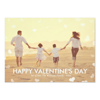 Pink Watercolor Valentine's Day Cards 13 Cm X 18 Cm Invitation Card
