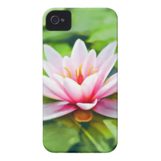 Pink Waterlily Case-Mate iPhone 4 Case