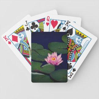 Pink Waterlily Lotus, Playing Cards