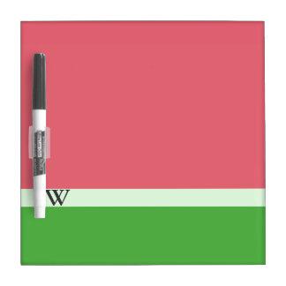 Pink Watermelon Color Block Dry Erase Board