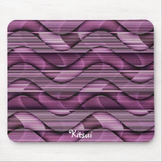 Pink Waves Mousepad
