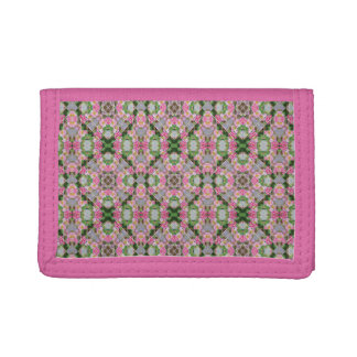 Pink Wedding Quilt Woman's Wallet