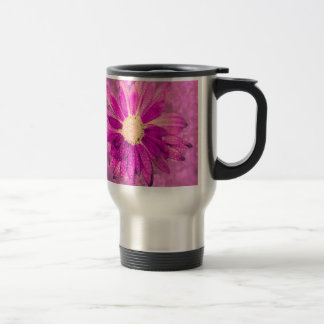 Pink wet Flower Coffee Mug