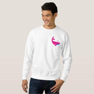 pink whale sweatshirt