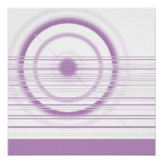 pink wheel poster