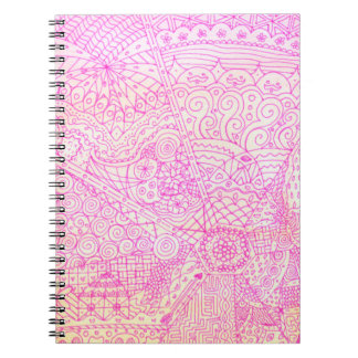Pink Whimsical Journal Notebook