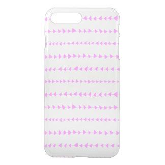 Pink White Aztec Arrows Pattern iPhone 7 Plus Case