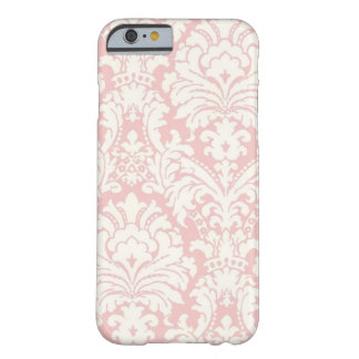 Pink&White Damask iPhone 6 case
