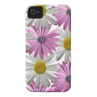 Pink/White Delicate Floral Iphone 4S Case iPhone 4 Case