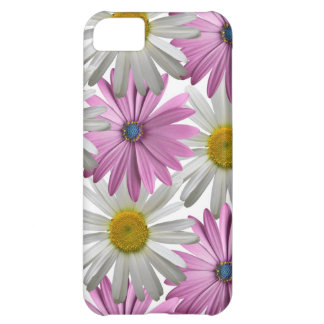 Pink/White Delicate Floral Iphone 5S Case Case For iPhone 5C