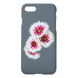 Pink & White Flowers iPhone 7 Case