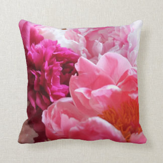 Pink & White Peony 2-Sided Pillow