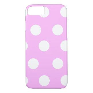 Pink/White Polka Dot Case