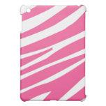 Pink White Zebra Stripes Pern  iPad Mini Covers