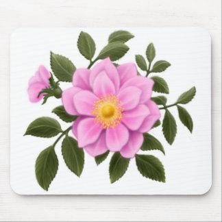 Pink Wild Rose Mousepad