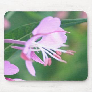 Pink Wildflower Mousepad