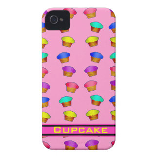Pink with Cupcakes iPhone 4/4S Case