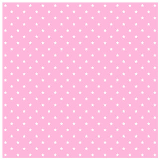Pink with little white stars cut out