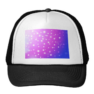 pink with white polkadots hat