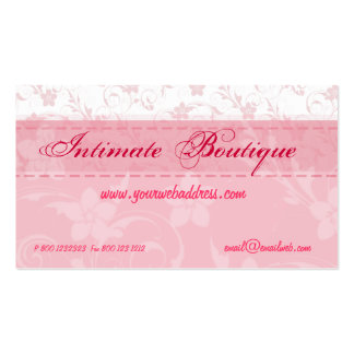 Pink Women Clothing Pack Of Standard Business Cards