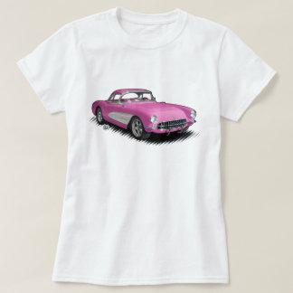 pink women's 56-57 StingVetteRay t-shirt