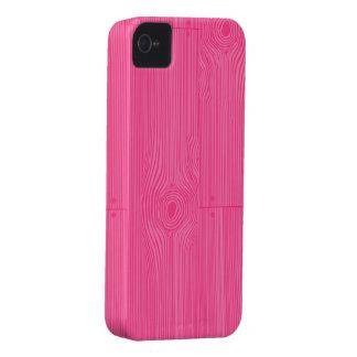 pink woodgrain iPhone 4 cover