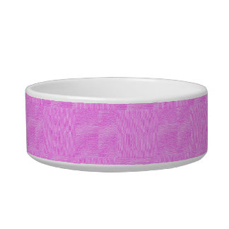 Pink Woven Texture Background Bowl