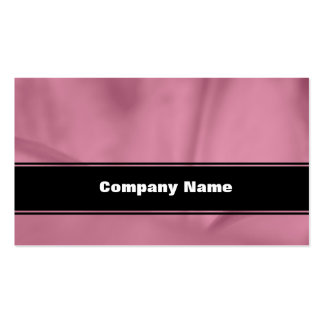 Pink Wrinkled Flower Closeup Texture Pack Of Standard Business Cards