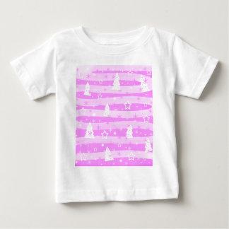 Pink Xmas magic Baby T-Shirt