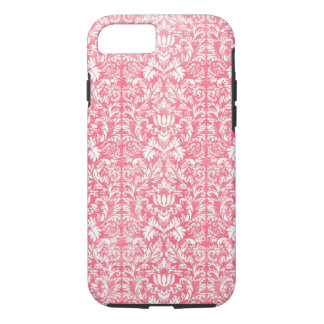 Pink Yarrow Floral Damask iPhone 8/7 Case