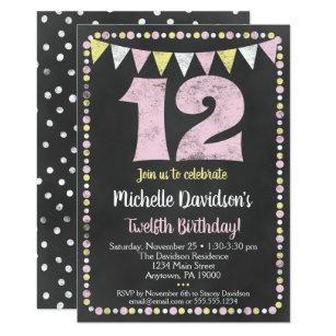 12th Birthday Invitations Zazzle Au