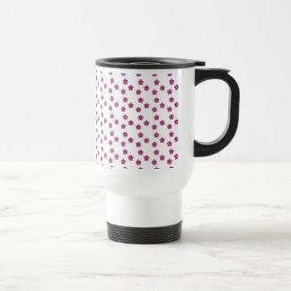 Pink Yellow Daisies Stainless Steel Travel Mug