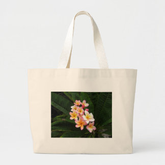 Pink Yellow Flowers Bag