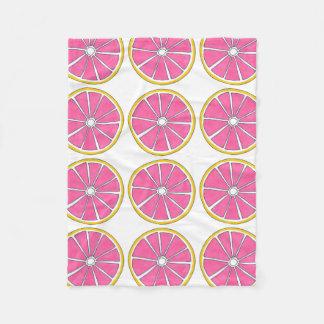 Pink Yellow Grapefruit Citrus Fruit Foodie Blanket