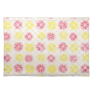 Pink & Yellow Lemonade Placemat