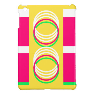 Pink Yellow Modern Design 4Alison iPad Mini Cases