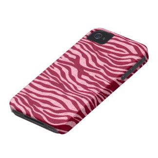 Pink Zebra iPhone 4 Case-Mate Case