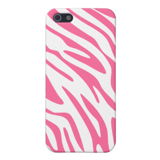 Pink Zebra Print Cover For iPhone 5/5S