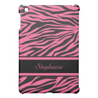 Pink Zebra Print iPad Mini Cover