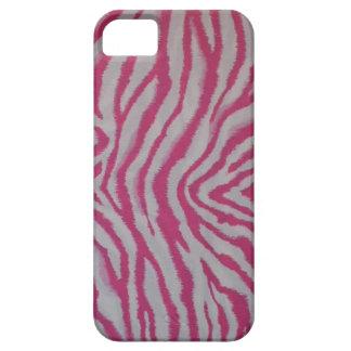 Pink Zebra Print iPhone 5 Case